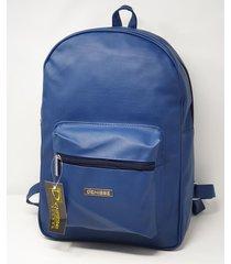 mochila azul denisse