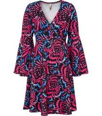 abito con maniche a campana (rosso) - bodyflirt boutique