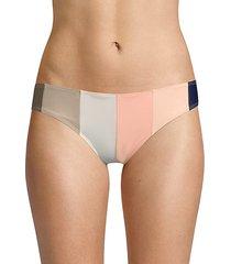 stripe bikini bottoms
