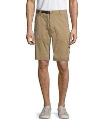 cotton blend cargo shorts