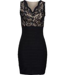 abito senza cuciture (nero) - bodyflirt boutique