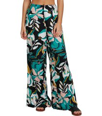roxy side by side wide leg pants, size x-small in anthracite paradiso at nordstrom