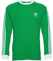 adicolor classics 3-stripes long sleeve tee t-shirts long-sleeved grön adidas originals