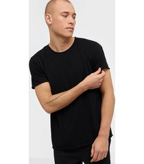 filippa k m. roll neck tee t-shirts & linnen black