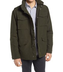 men's nn07 winter field 8264 jacket, size medium - green