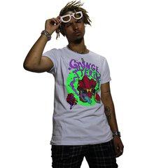 camiseta grungetteria camaleão branca