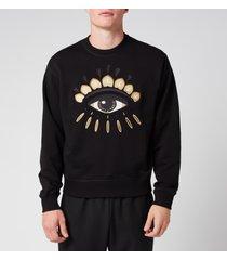kenzo men's classic eye sweatshirt - black - s