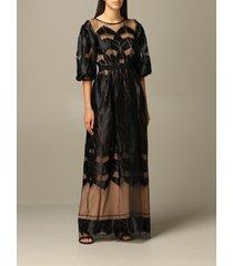 alberta ferretti dress alberta ferretti long dress with optical designs