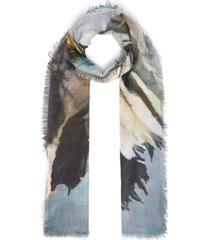 'copricapo stardust' print cashmere scarf