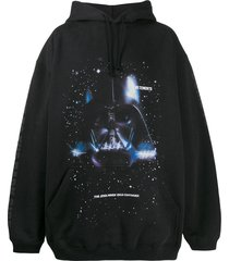 vetements x star wars darth vader hoodie black