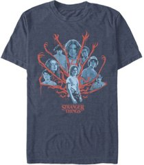 fifth sun men's stranger things demogorgan billy poster short sleeve t-shirt