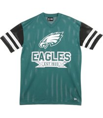 casacca nfl contrast sleeve t-shirt phieag