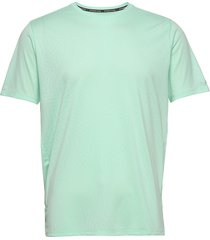 q speed jacquard ss t-shirts short-sleeved grön new balance