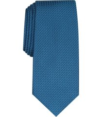 alfani men's slim textured tie, created for macy's
