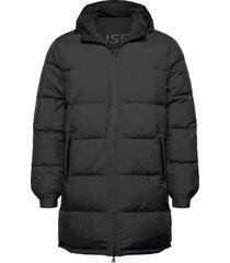 vintage reversible hood jacket fodrad jacka svart ecoalf