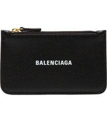 balenciaga zip pouch wallet - 1090 - black