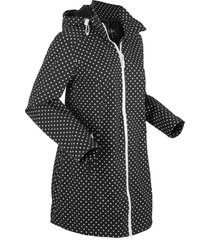 giacca lunga in softshell elasticizzato (nero) - bpc bonprix collection