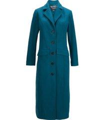 cappotto lungo in simil lana (petrolio) - bpc bonprix collection