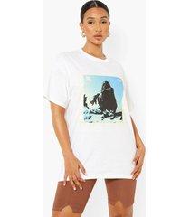 gelicenseerd oversized ty dolla sign t-shirt, white