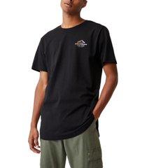 men's longline scoop t-shirt