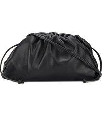 bottega veneta the mini pouch bag - black