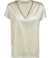 fabiana filippi v-neck embellished top
