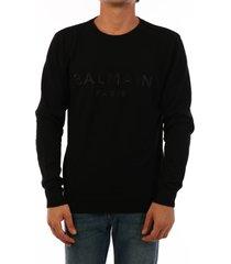 balmain cashmere sweater black
