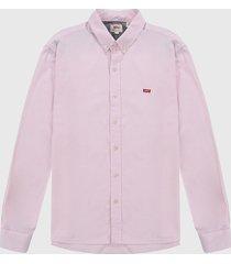 camisa rosado levis