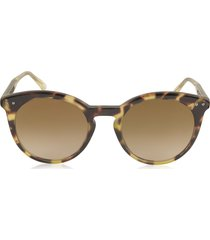 bottega veneta designer sunglasses, bv0096s round acetate women's sunglasses