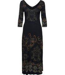 vest vero jurk knielengte zwart desigual