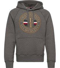 icon hoody hoodie trui grijs tommy hilfiger