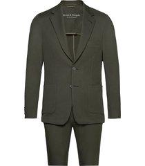 bs molise, suit set kostym grön bruun & stengade