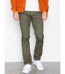 suit frank chino-q6027 byxor mörk grön