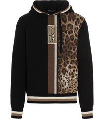 dolce & gabbana animalier hoodie