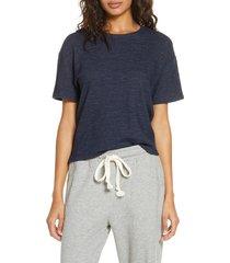 women's madewell short sleeve pajama sweatshirt