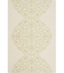 "martha stewart collection beach grass 2'7"" x 5' area rug, created for macy's"