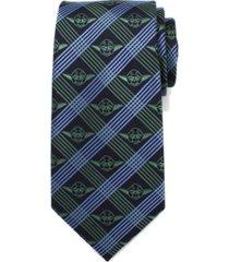 star wars yoda plaid men's tie
