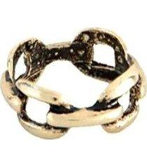 anel armazém rr bijoux ouro velho entrelaçado