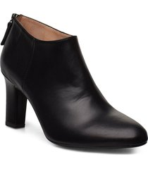 uchi_na shoes boots ankle boots ankle boots with heel svart unisa