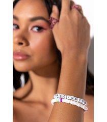 akira vaccinated beaded bracelet
