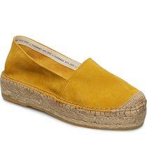 ida sandaletter expadrilles låga gul pavement