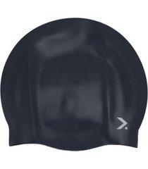 touca de natação oxer big acqua - adulto - preto