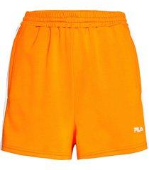 women allete high waist shorts shorts flowy shorts/casual shorts orange fila