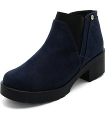 botín de moda dama azul tellenzi 1503