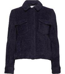 kimmy jacket 10661 zomerjas dunne jas blauw samsøe samsøe