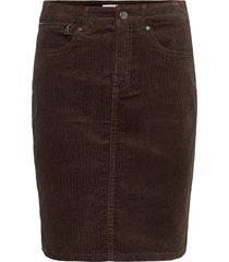 frmacord 2 skirt kort kjol brun fransa