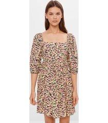 babydoll-jurk met bloemenprint
