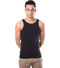 hom smart cotton tanktop black (singlet)