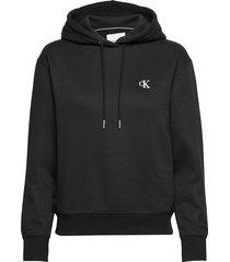 ck embroidery hoodie hoodie trui zwart calvin klein jeans
