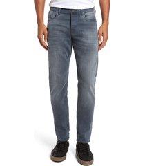 men's scotch & soda ralston slim straight leg jeans, size 32 x 32 - grey